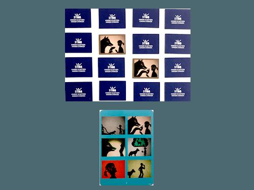 merXdir Präventionsspiel für den Kindergarten Bilderlotto mit verdeckten Karten